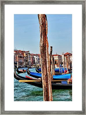 Joyride-venice Italy Framed Print