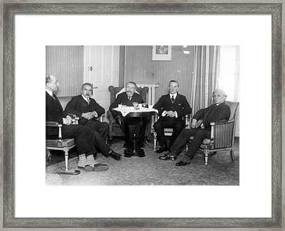Jozef Klemens Pilsudski (1867-1935) Framed Print by Granger