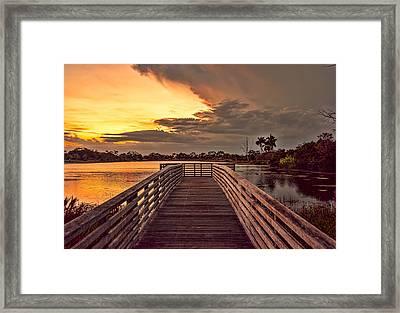 Jpp Sunset Framed Print