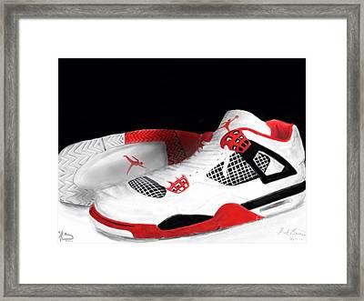 J's Framed Print