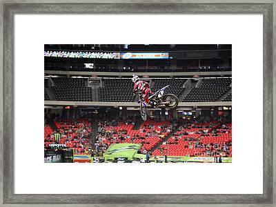 Js7 Tail Whip Framed Print by David Kittrell