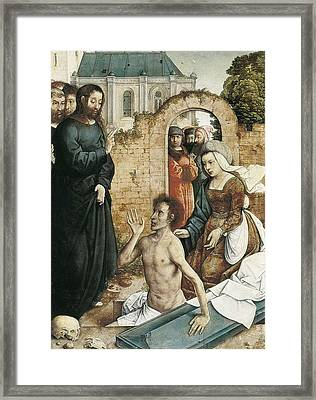 Juan De Flandes  -1519. The Framed Print