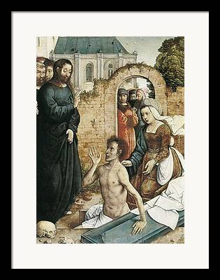 St Lazarus Framed Prints