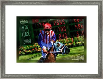 Juan Jose Hernandez Framed Print by Blake Richards