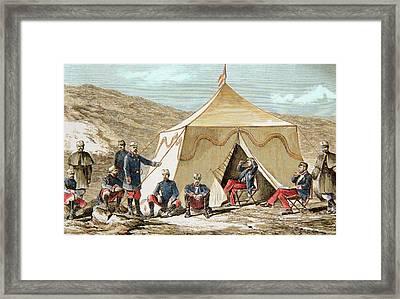 Juan Prim (1814-1870 Framed Print by Prisma Archivo