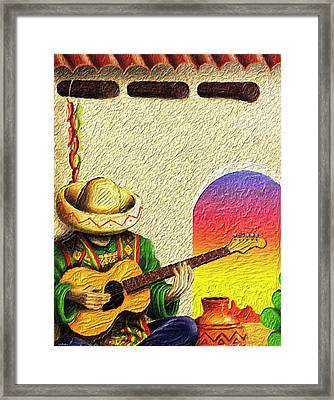 Juan's Song Framed Print by Tyler Robbins