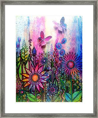 Jubilant Framed Print by Robin Mead