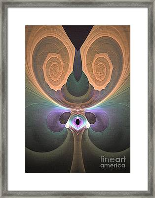 Jubilation - Surrealism Framed Print by Sipo Liimatainen