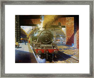 Jubilee 4.6.0 At Liverpool Lime Street. Framed Print