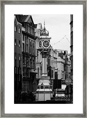 Jubilee Clock For Queen Victorias Golden Jubilee Douglas Isle Of Man Framed Print by Joe Fox