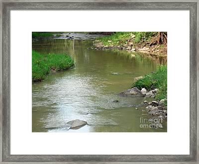 Jubilee Creek Framed Print