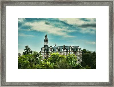Jubilee Hall At Fisk University - Nashville Tennessee Framed Print