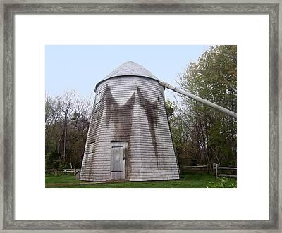 Judah Baker Windmill Framed Print by Catherine Gagne