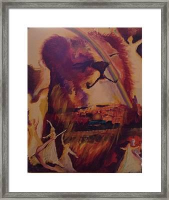 Judah Smiles Framed Print by Tehya May