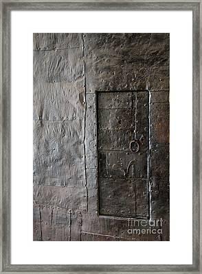 Judas Door Framed Print by Christiane Schulze Art And Photography