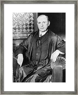 Judge Monaghan At Thaw Trial Framed Print