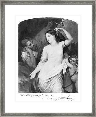 Judgement Of Paris Framed Print by Granger