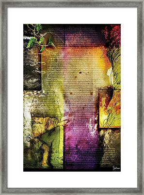 Judges 1 Framed Print by Switchvues Design