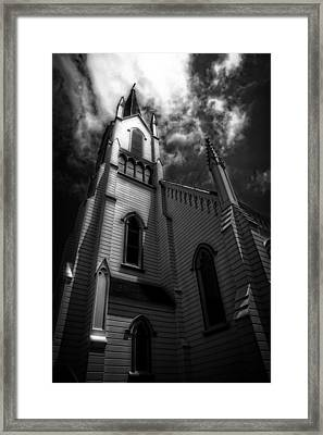 Judgment Framed Print by Mark Alder