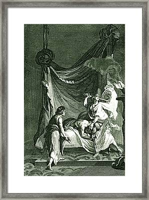 Judith Beheading Holofernes Framed Print by Collection Abecasis