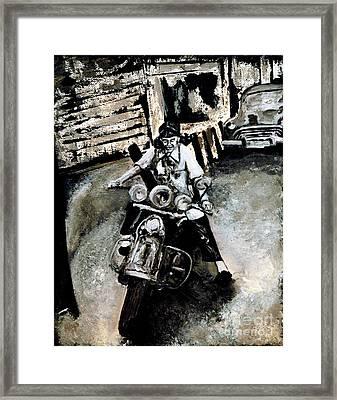 Judy Ann Framed Print