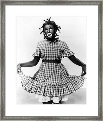 Judy Garland In Everybody Sing  Framed Print