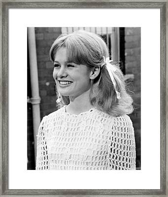 Judy Geeson In To Sir, With Love  Framed Print by Silver Screen