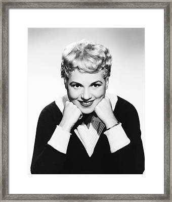 Judy Holliday, Columbia Portrait, 1954 Framed Print