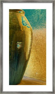 Jug Abstraction Framed Print by Ben and Raisa Gertsberg