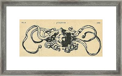 Jugend Jester Framed Print