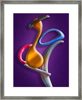 Juggling Act Framed Print
