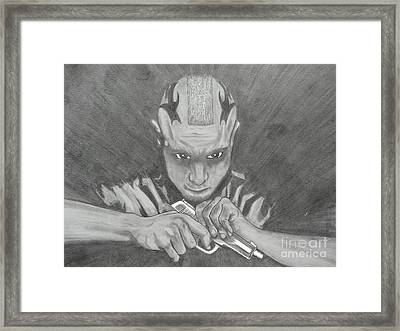 Juice- Sons Of Anarchy Framed Print by Justin Moore