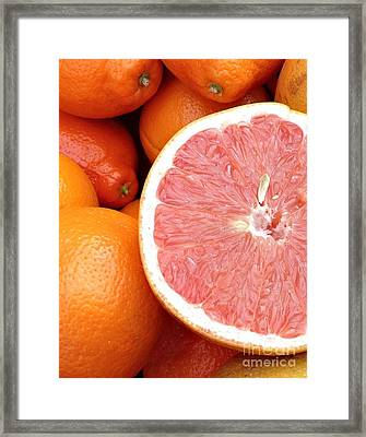 Juicy Goodness Framed Print by Roxanne Marshal