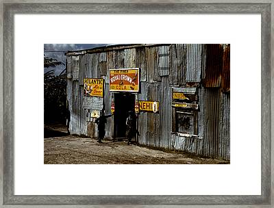 Juke Joint Natchez Mississippi Framed Print by Marion Wolcott
