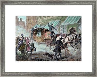 Jules Auguste Armand Marie, Prince Framed Print by Prisma Archivo