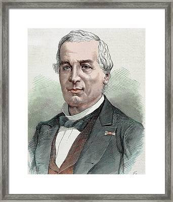 Jules Barthelemy Saint-hilaire Framed Print