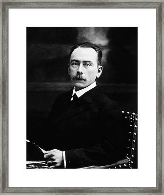 Jules Bordet Framed Print by National Library Of Medicine