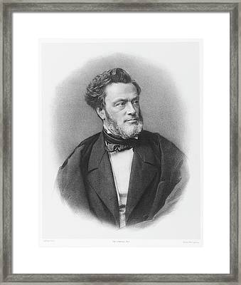 Jules Favre  French Radical Statesman Framed Print by Mary Evans Picture Library