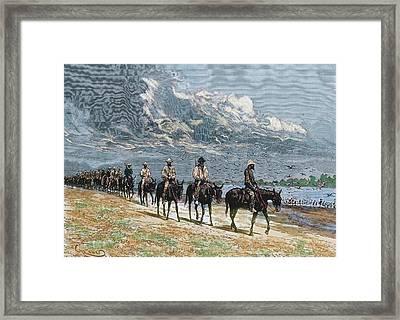 Jules Nicholas Crevaux (lorquin Framed Print by Prisma Archivo