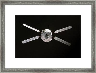 Jules Verne Automated Transfer Vehicle Framed Print by Anonymous
