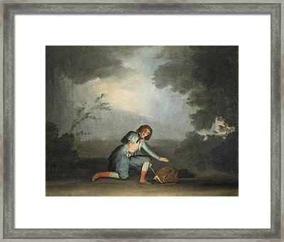 Julia, Asensi 1767-1830. Scene Framed Print by Everett