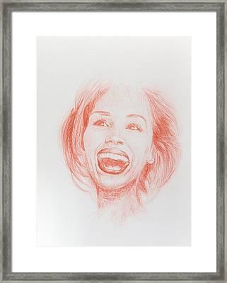 Julia Roberts Framed Print by Maeva Merel