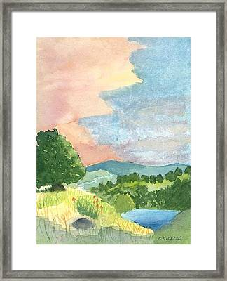Julian Framed Print by Charlotte Hickcox