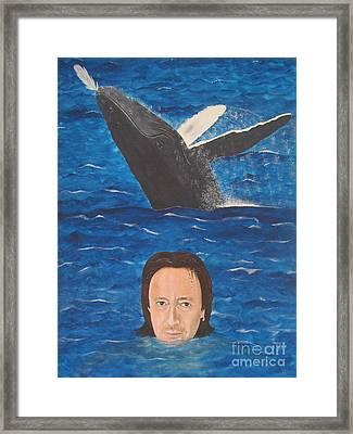 Julian Lennon Framed Print