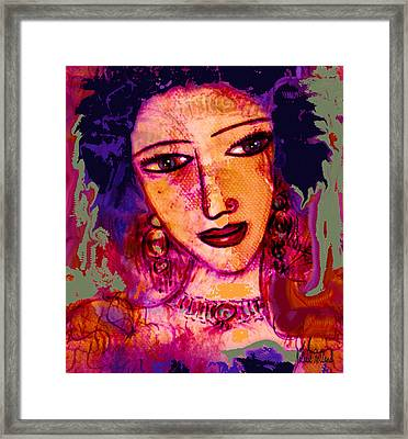 Juliana Framed Print by Natalie Holland