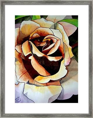 Julia's Rose Framed Print by Sacha Grossel