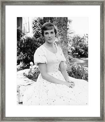 Julie Andrews, Ca. Mid-1960s Framed Print by Everett