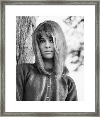 Julie Christie, Ca. Mid-1960s Framed Print by Everett