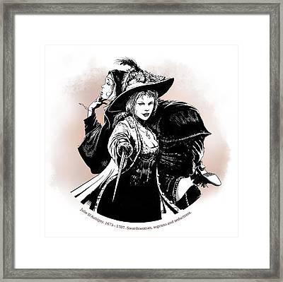 Julie D' Aubigny Framed Print