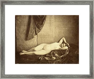 Julien Vallou De Villeneuve French, 1795 - 1866 Framed Print